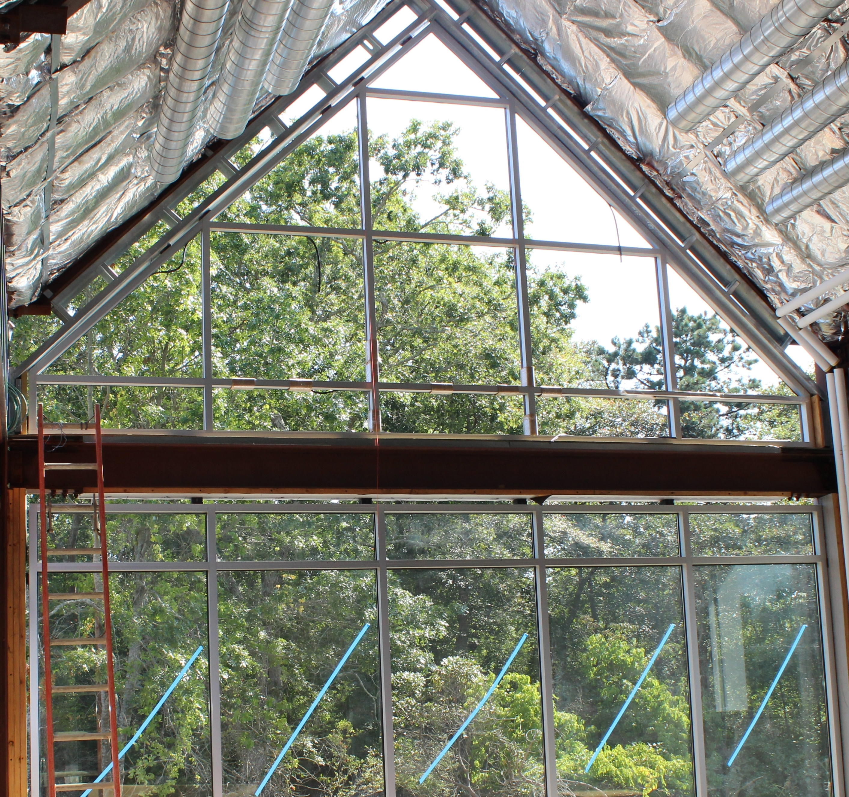 Glass installed in Great Room